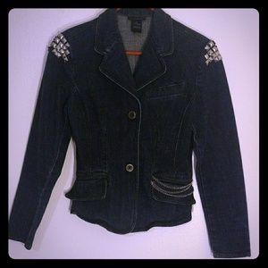 Jackets & Blazers - NEW✨Studded Jean Jacket